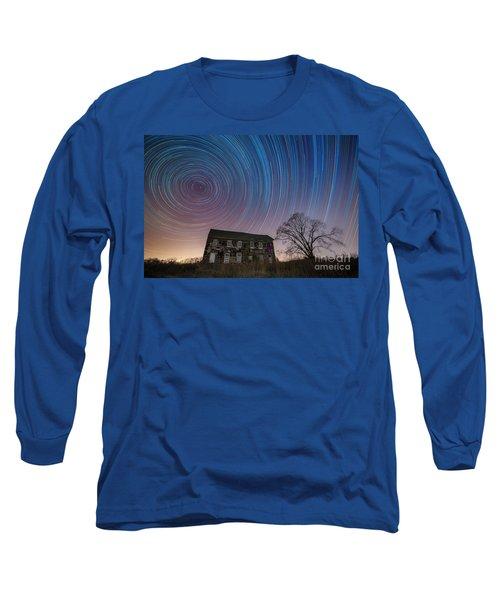 Revolutionary War House Star Trails Long Sleeve T-Shirt