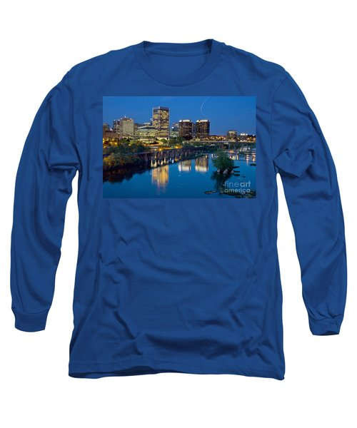 Richmond Skyline Helo Trail Long Sleeve T-Shirt