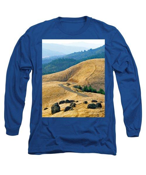 Riding The Mountain Long Sleeve T-Shirt