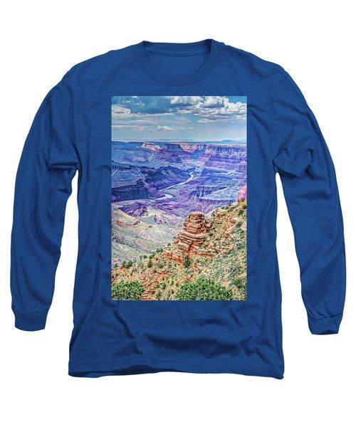 Rim Shot Long Sleeve T-Shirt by Mark Dunton