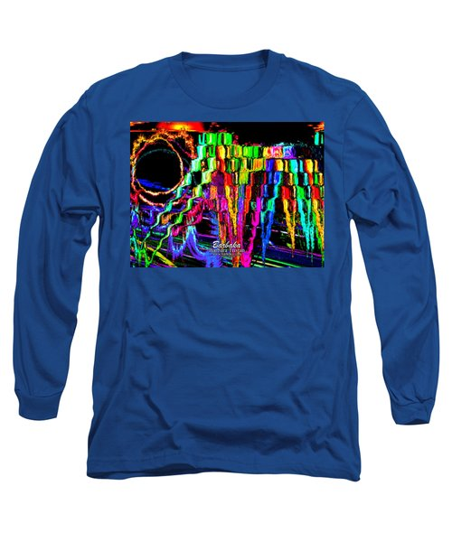 Rings Of Fire Long Sleeve T-Shirt by Barbara Tristan
