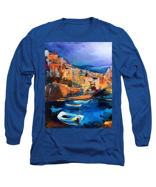 Riomaggiore - Cinque Terre Long Sleeve T-Shirt