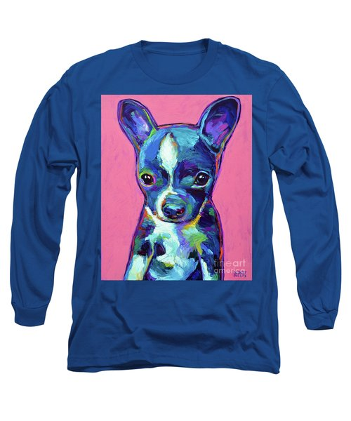 Long Sleeve T-Shirt featuring the painting Ripley by Robert Phelps