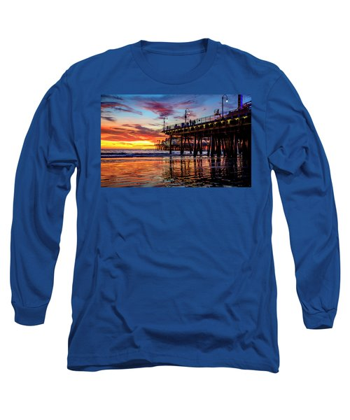 Ripples And Reflections Long Sleeve T-Shirt