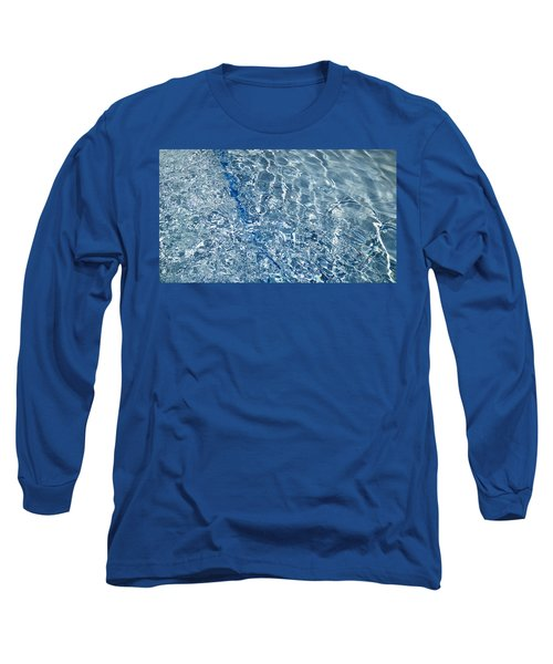 Ripples Of Summer Long Sleeve T-Shirt