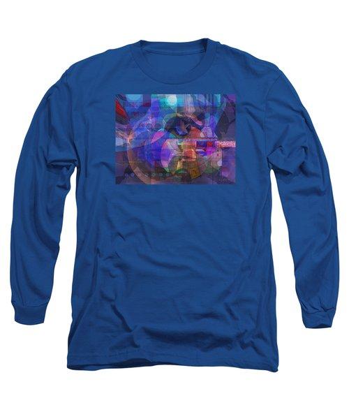 Long Sleeve T-Shirt featuring the digital art Rock Star by David Klaboe
