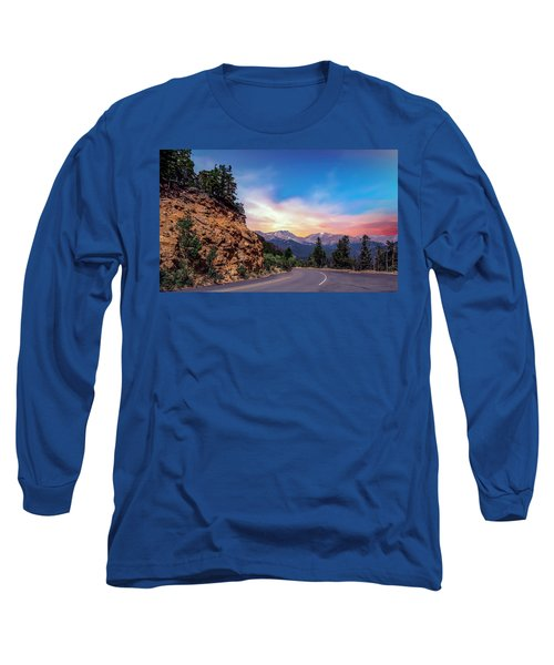 Rocky Mountain High Road Long Sleeve T-Shirt