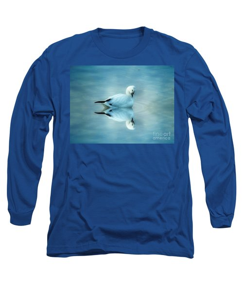 Ross Goose Long Sleeve T-Shirt by Suzanne Handel