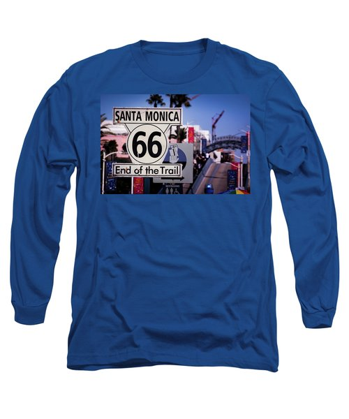 Route 66 End Of Trail Long Sleeve T-Shirt