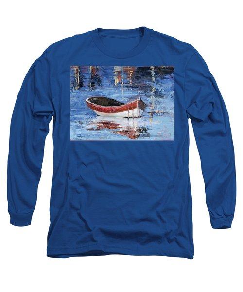 Rusty Brown Blues Long Sleeve T-Shirt