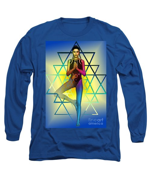 Long Sleeve T-Shirt featuring the digital art Sacred Geometry 2 by Shadowlea Is
