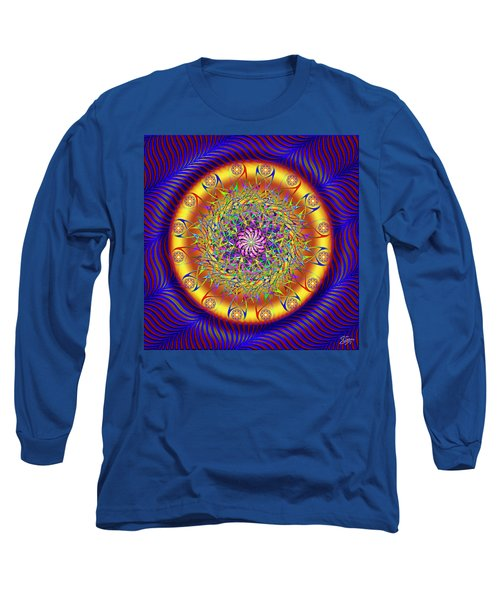 Sacred Geometry 649 Long Sleeve T-Shirt