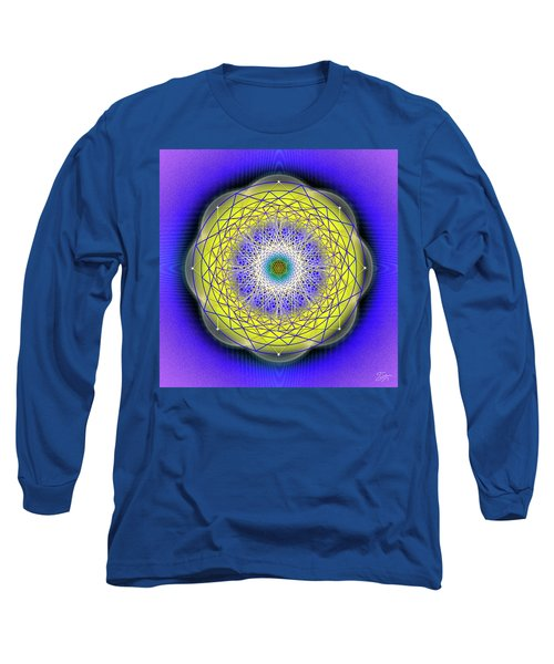 Sacred Geometry 655 Long Sleeve T-Shirt