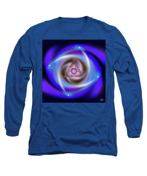 Sacred Geometry 687 Long Sleeve T-Shirt