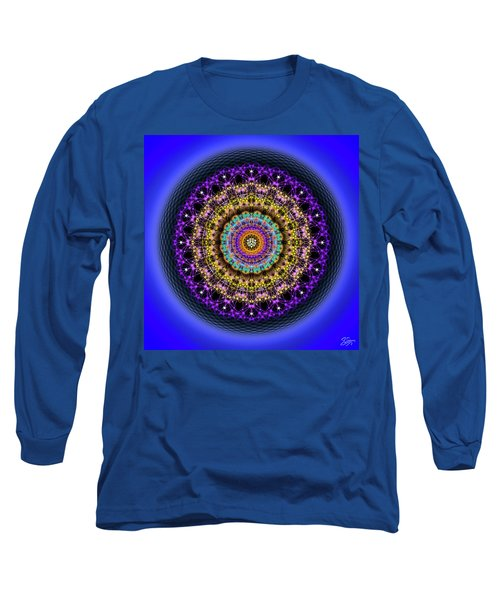 Sacred Geometry 708 Long Sleeve T-Shirt