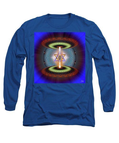 Sacred Geometry 718 Long Sleeve T-Shirt