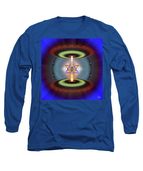 Sacred Geometry 718 Long Sleeve T-Shirt