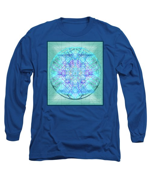 Sacred Symbols Out Of The Void 3b1 Long Sleeve T-Shirt by Christopher Pringer