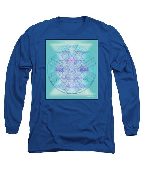 Sacred Symbols Out Of The Void A2b Long Sleeve T-Shirt by Christopher Pringer
