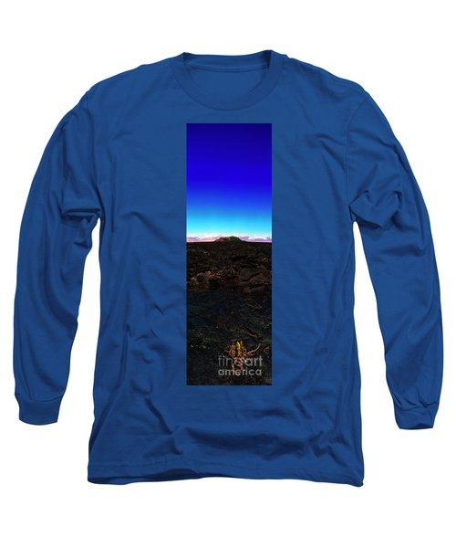 Saddle Road Humuula Lava Field Big Island Hawaii  Long Sleeve T-Shirt