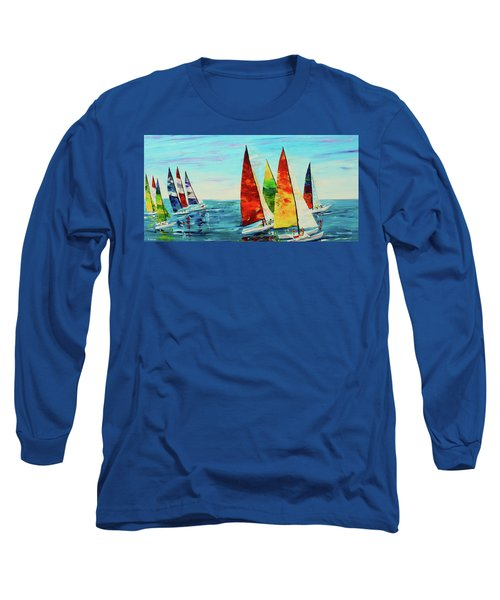 Sailboat Race Long Sleeve T-Shirt
