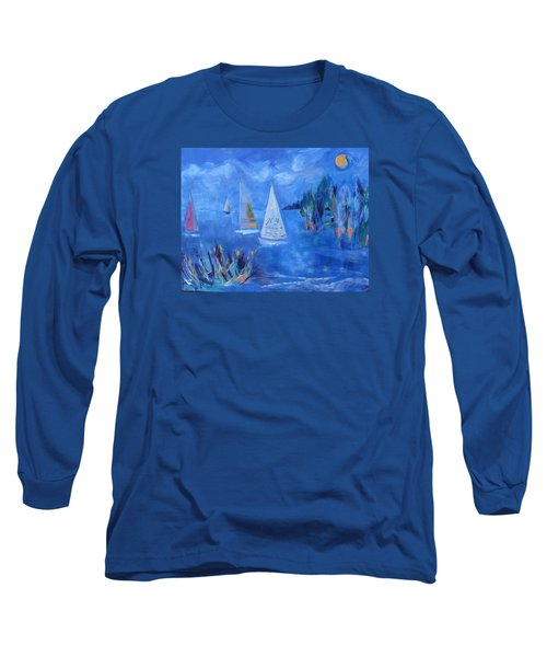 Sails And Sun Long Sleeve T-Shirt