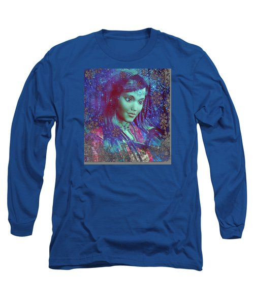 Long Sleeve T-Shirt featuring the painting Saint Mary Magdalene Of Nagasaki by Suzanne Silvir