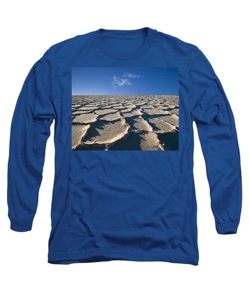 Salt Flats Death Valley National Park Long Sleeve T-Shirt