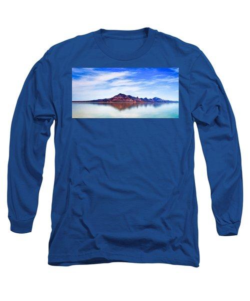 Salt Lake Mountain Long Sleeve T-Shirt