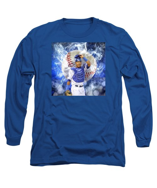 Salvy The Mvp Long Sleeve T-Shirt by Colleen Taylor