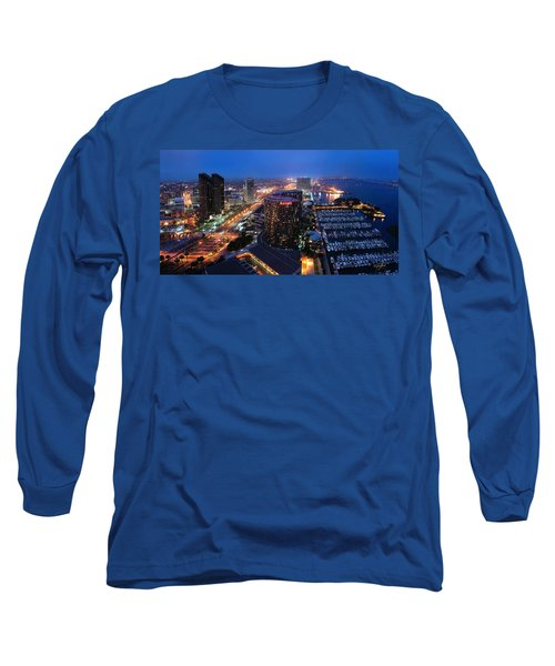 San Diego Bay Long Sleeve T-Shirt