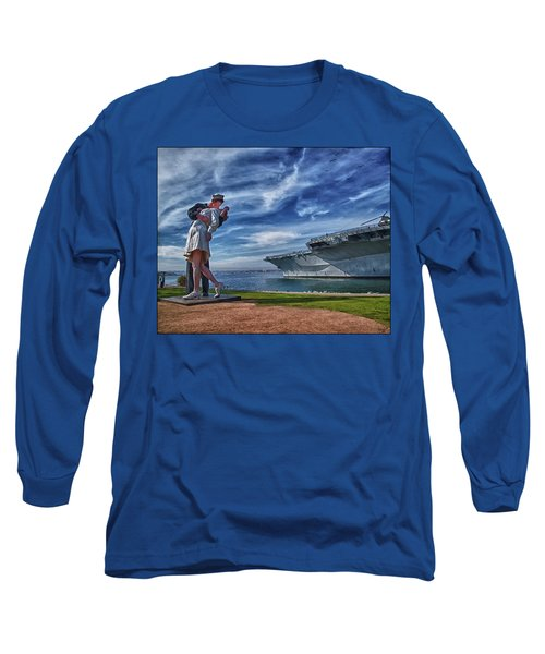 San Diego Sailor Long Sleeve T-Shirt