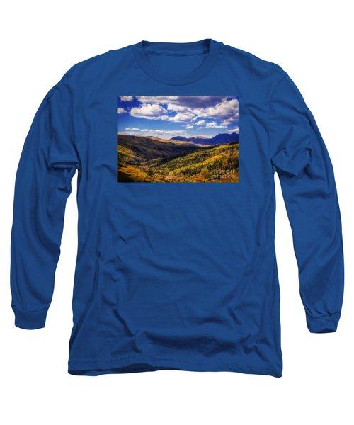 San Juan Colors Long Sleeve T-Shirt by Janice Rae Pariza