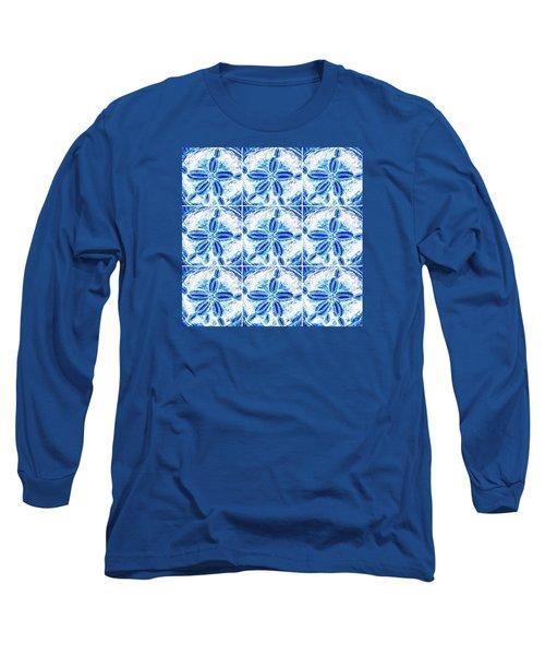 Sand Dollar Delight Pattern 3 Long Sleeve T-Shirt