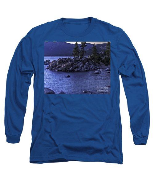 Long Sleeve T-Shirt featuring the photograph Sand Harbor South by Nancy Marie Ricketts