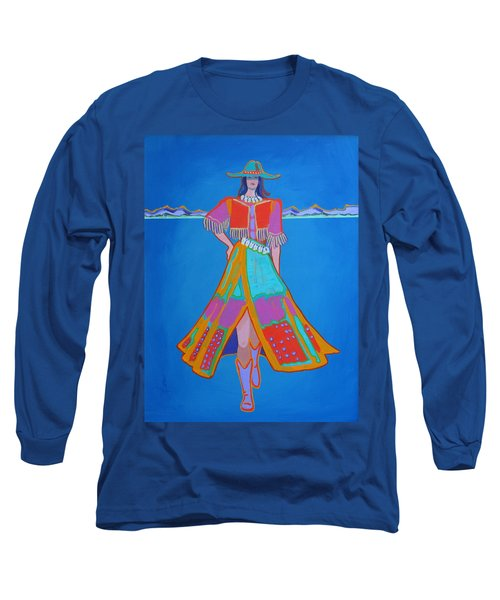 Santa Fe Girl  Long Sleeve T-Shirt