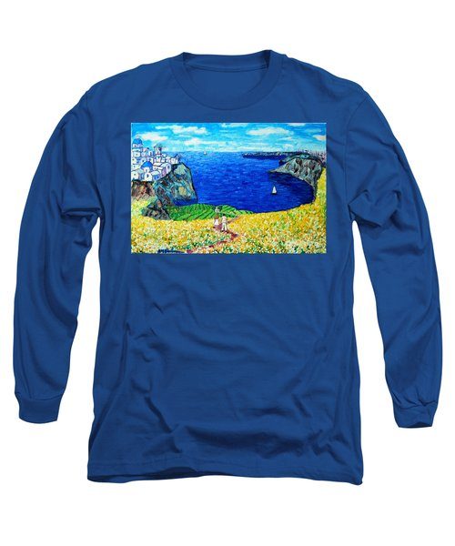 Santorini Honeymoon Long Sleeve T-Shirt
