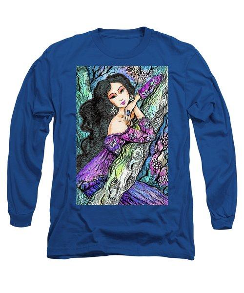 Sapphire Forest Long Sleeve T-Shirt