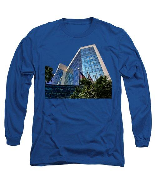 Sarasota Architecture Glass Transparency Long Sleeve T-Shirt