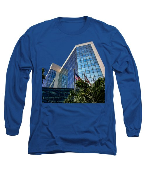 Sarasota Architecture Glass Transparency Long Sleeve T-Shirt