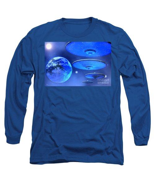 Saucers Long Sleeve T-Shirt