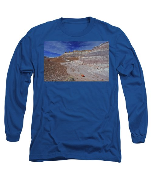 Scattered Fragments Long Sleeve T-Shirt