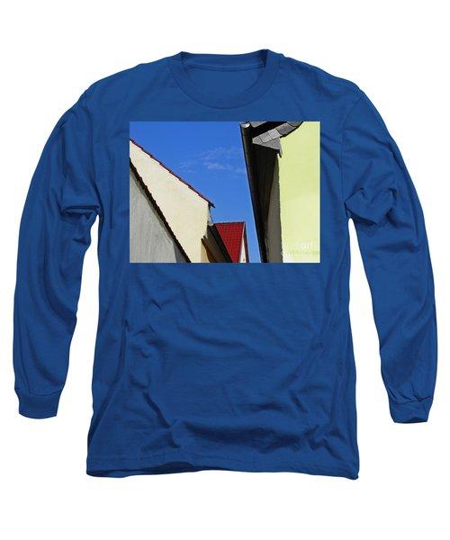 Schierstein Geometrics Long Sleeve T-Shirt by Sarah Loft