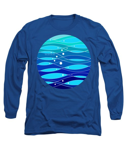 School Fish I Long Sleeve T-Shirt
