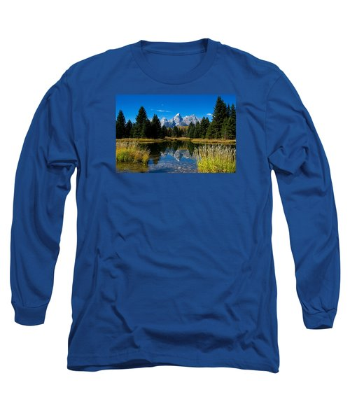 Schwabacher Landing Reflection Long Sleeve T-Shirt