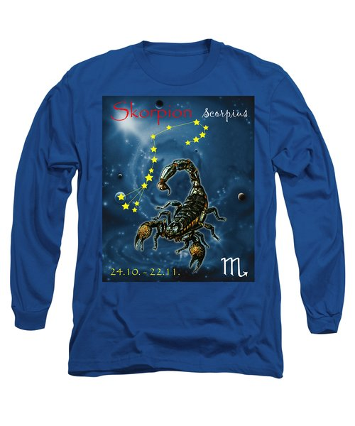 Scorpius And The Stars Long Sleeve T-Shirt