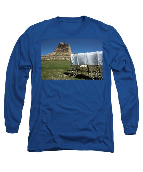 Scotts Bluff National Monument Nebraska Long Sleeve T-Shirt