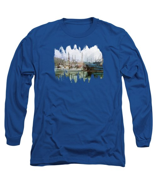 Sea Breeze And Lady Law Long Sleeve T-Shirt