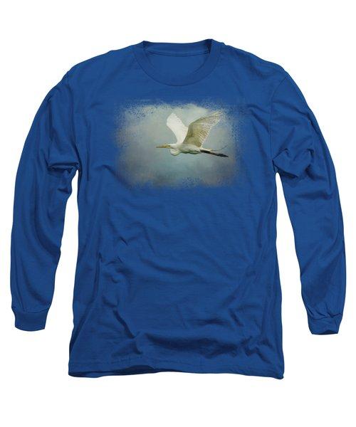 Sea Flight Long Sleeve T-Shirt by Jai Johnson