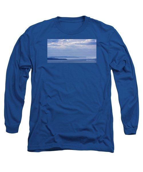 Sea Fret Long Sleeve T-Shirt by David  Hollingworth